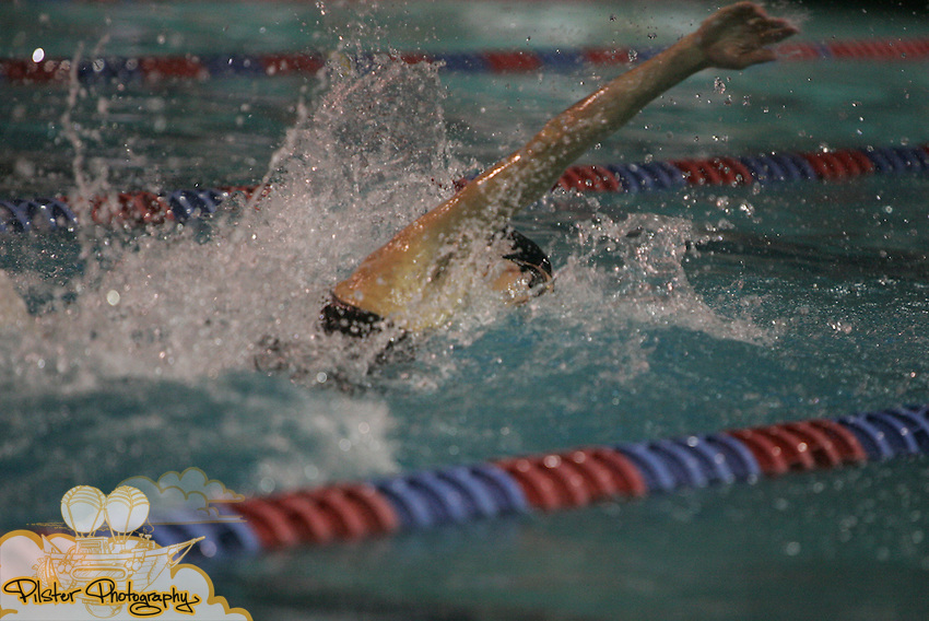 Bishop Verot's Sean Minor starts the 100yd free on Friday, November 14, 2008, during the class 1A FHSAA Swimming Finals at the YMCA Aquatic Center in Orlando. Minor finished 8th with a time of 47.38. (Chad Pilster, PilsterPhotography.net)