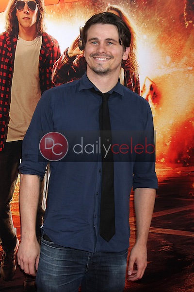 """Jason Ritter<br /> at the """"American Ultra"""" Los Angeles Premiere, Ace Hotel, Los Angeles, CA 08-18-15<br /> David Edwards/Dailyceleb.com 818-249-4998"""