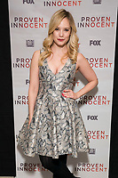 """NEW YORK - FEBRUARY 13:  Caitlin Mehner attends a screening of FOX's """"Proven Innocent"""" at The Paley Center for Media on February 13, 2019 in New York City. (Photo by Ben Hider/Fox/PictureGroup)"""