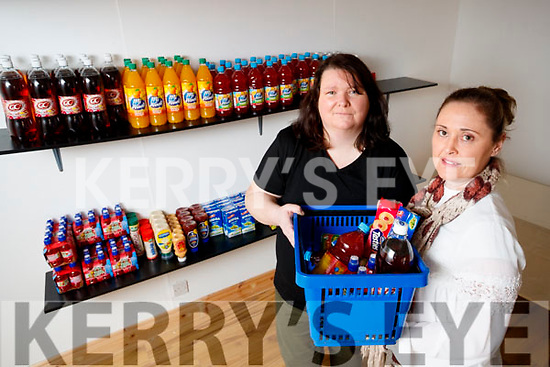 Yvonne Diggins and Etain Usher of Tralee Best before and more social Store at Courthouse Lane in Tralee.