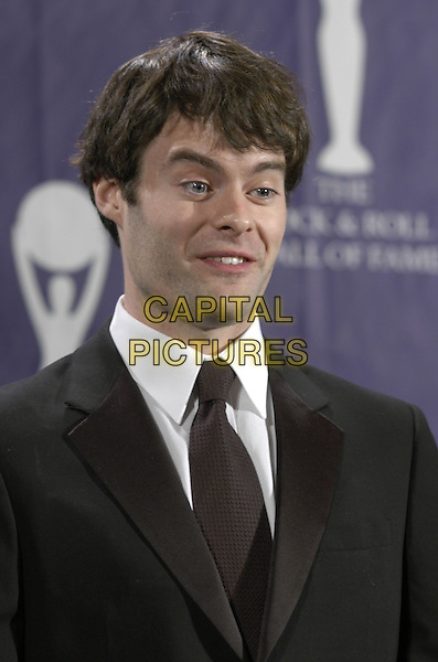 BILL HADER.The 22nd annual Rock And Roll Hall Of Fame  induction ceremony at the Waldorf Astoria Hotel, New York, New York, USA..March 12th, 2007.headshot portrait .CAP/ADM/BL.©Bill Lyons/AdMedia/Capital Pictures *** Local Caption ***