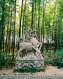 CHINA, Hangzhou, statue in the Bamboo Forest, Maijai Wu