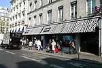 PARIS - FRANCE - 15 APRIL 2004--The fine food shop Fauchon at Place de la Madeleine.-- PHOTO: ERIK LUNTANG / EUP-IMAGES