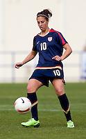 Carli Lloyd.  The USWNT defeated Iceland, 1-0, at Ferreiras, Portugal.