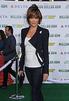 HOLLYWOOD, CA - MAY 6:  Lisa Rinna at the Premiere Of Disney's 'Million Dollar Arm'  on May 6, 2014 at El Capitan Theatre in Hollywood, California. Credit: SP1/Starlitepics /nortephoto.com