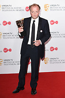 Toby Jones in the winners room for the BAFTA TV Awards 2018 at the Royal Festival Hall, London, UK. <br /> 13 May  2018<br /> Picture: Steve Vas/Featureflash/SilverHub 0208 004 5359 sales@silverhubmedia.com