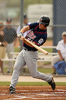 March 23, 2007:  Whit Robbins of the Minnesota Twins organization during a Spring Training game at Lee County Sports Complex in Fort Myers, FL.  Photo By David Stoner/Four Seam Images