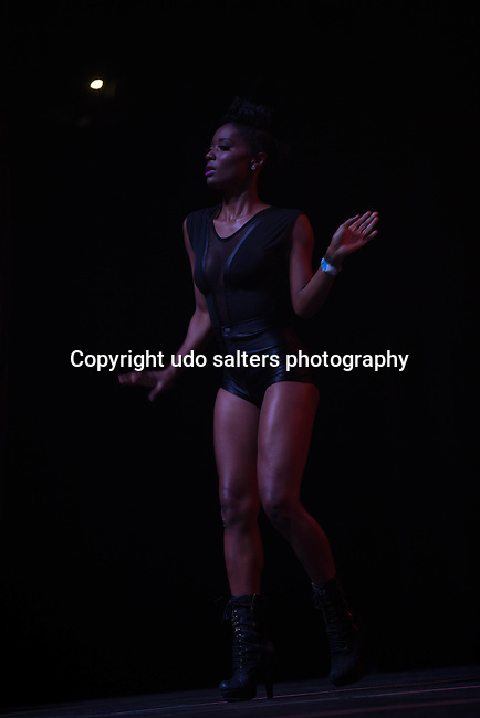 Ne-Yo Dancer Performs onstage during Power 105.1's Powerhouse 2014 at Barclays Center, Brooklyn, NY