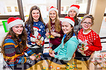 TY Students from Presentation Secondary School selling German biscuits and other festive treats in aid of The Ronald McDonald House. Front l-r  Maeve Dowling, Isabel Horgan, Rachel McCarthy, Roisin Kerin, Ava McCormack and Maeve Pierse