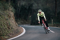 Edward THEUNS (BEL/Trek-Segafredo)<br /> <br /> Team Trek-Segafredo men's team<br /> training camp<br /> Mallorca, january 2019<br /> <br /> &copy;kramon