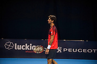 VALENCIA, SPAIN - OCTOBER 28: Thomaz Bellucci during Valencia Open Tennis 2015 on October 28, 2015 in Valencia , Spain