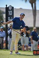 Rory McIlroy (NIR) watches his tee shot on 10 during round 1 of the Arnold Palmer Invitational at Bay Hill Golf Club, Bay Hill, Florida. 3/7/2019.<br /> Picture: Golffile | Ken Murray<br /> <br /> <br /> All photo usage must carry mandatory copyright credit (© Golffile | Ken Murray)