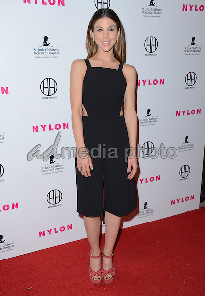 09 February  - Hollywood, Ca - Kate Mansi. Arrivals for the NYLON Magazine Pre-Grammy Party held at No Vacancy. Photo Credit: Birdie Thompson/AdMedia