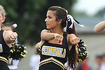 Palos Verdes, CA 09/16/11 - Song & Cheer in action during the Culver City-Peninsula Varsity football game.