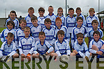 CASTLEISLAND DESMONDS: The U10's from Castleisland Desmonds at the football blitz held at John Mitchells on Saturday front l-r: Eamon Breen, Shane O'Connell, Ciaran Breen, Sea?n Prenderville, Padraig O'Connell and Jack Curran. Centre l-r: Danny Browne, Patrick Moran, David Lynch, Tadgh Walsh, Kevin Nelligan, Kevin Daly and Conor Nolan. Back l-r: Dominic Prenderville, Cian Mangan, Paul Walsh, Sean Donoghue, Mattew Browne, Art O'Mahony, Jack Lynch and James McEllistrim..   Copyright Kerry's Eye 2008