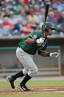 Carlos Peguero during the Southern League Playoffs. West Tenn won the game 8-3 at Smokies Park, Kodak Tennessee. Photo By Tony Farlow/Four Seam Images.