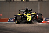 30th November 2019; Yas Marina Circuit, Abu Dhabi, United Arab Emirates; Formula 1 Abu Dhabi Grand Prix, qualifying day;  Daniel Ricciardo AUS 3, Renault F1 Team