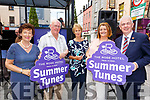 Members of the OPUS &rsquo;96 Chamber Choir taking part in the Summer Tunes at the Music in the Mall on Saturday.<br /> L-r, Renee Fitzgibbon, Gerry Cournane, Margaret Murphy, Martina Ryan Murphy and Mark Sullivan.