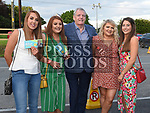 Finnan McCoy with Jessica Daly, Ellen Campbell, Michaela Callan and Laura Matthews at the Mayfest Concert at the Village Saloon Dromin. Photo:Colin Bell/pressphotos.ie