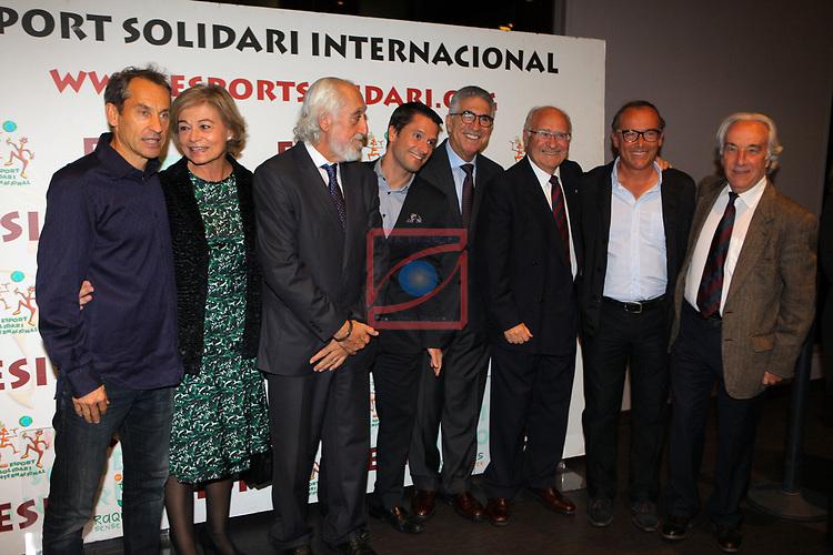 XIV Sopar Solidari de Nadal.<br /> Esport Solidari Internacional-ESI.<br /> Josep Maldonado y la representación del mundo del tenis.
