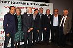 XIV Sopar Solidari de Nadal.<br /> Esport Solidari Internacional-ESI.<br /> Josep Maldonado y la representaci&oacute;n del mundo del tenis.