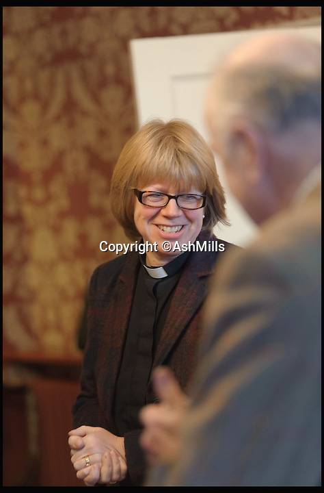 BNPS.co.uk (01202 558833)<br /> Pic: AshMills/BNPS<br /> <br /> ***Please Use Full Byline***<br /> <br /> The Revd Dame Sarah Mullally DBE, Canon Treasurer of Salisbury Cathedral.<br /> <br /> One of Britain's best known cathedrals is free from scaffolding for the first time in nearly 30 years following a major restoration project. <br /> <br /> Work began on historic Salisbury Cathedral in 1986 amid concerns that the 795-year-old medieval building was falling into disrepair. <br /> <br /> Now, 29 years after the first work began, the cathedral in Wiltshire is free from as the extensive renovation reaches its final stage.<br /> <br /> The removal of the scaffolding also corresponds with the 800th anniversary of the signing of the Magna Carta, the charter King John was forced to comply with in 1215 granting rights to the public and to the church.