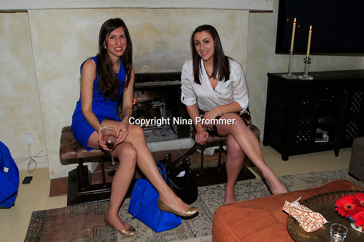 SANTA MONICA - MAR 21: Julia Noran, Samantha Snowden at a dinner celebrating the launch of the Kathryn M. Ireland collection with Scalamandre at a private residence on March 21, 2013 in Santa Monica, California