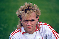 John Lynch, GAA footballer, Tyrone, N Ireland, 19870607JL..Copyright Image from Victor Patterson, 54 Dorchester Park, Belfast, UK, BT9 6RJ..Tel: +44 28 9066 1296.Mob: +44 7802 353836.Voicemail +44 20 8816 7153.Skype: victorpattersonbelfast.Email: victorpatterson@me.com.Email: victorpatterson@ireland.com (back-up)..IMPORTANT: If you wish to use this image or any other of my images please go to www.victorpatterson.com and click on the Terms & Conditions. Then contact me by email or phone with the reference number(s) of the image(s) concerned.