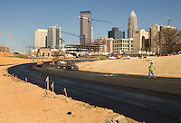 A view on Charlotte, NC development.