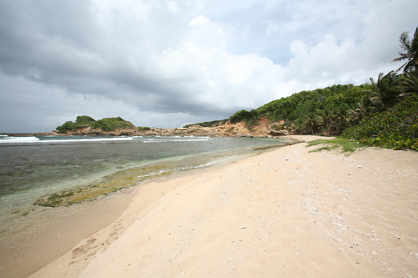 Scenes of Pointe Baptiste Beach, near Calibishe Dominica