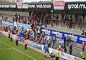 07/05/2016 Sky Bet League Two Morecambe v York City<br /> York fans