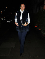 LONDON, ENGLAND - NOVEMBER 26: Amal Fashanu at the Biltmore Hotel launch party, The Biltmore, Grosvenor Square on Tuesday 26 November 2019 in London, England, UK. <br /> CAP/CAN<br /> ©CAN/Capital Pictures