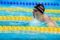 Picture by Rogan Thomson/SWpix.com - 30/07/2017 - Swimming - Fina World Championships 2017 -  Duna Arena, Budapest, Hungary - Max Litchfield of Great Britain finishes 4th just outside the medals in the Final of the Men's 400m Individual Medley.