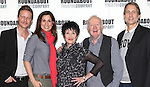 Will Chase, Stephanie J. Block, Chita Rivera, Jim Norton and Gregg Edelman attend the Photo Call for the cast of Roundabout Theatre Company's 'The Mystery of Edwin Drood' in their New York City rehearsal hall. 10/2/2012