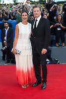 Colin Firth &amp; wife Livia Giuggioli at the premiere of Nocturnal Animals at the 2016 Venice Film Festival.<br /> September 2, 2016 Venice, Italy<br /> Picture: Kristina Afanasyeva / Featureflash