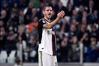 Leonardo Bonucci of Juventus <br /> Torino 19/10/2019 Allianz Stadium <br /> Football Serie A 2019/2020 <br /> Juventus FC - Bologna <br /> Photo Federico Tardito / Insidefoto