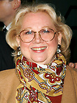 Barbara Cook attending the Opening Night Performance of THE APPLE TREE at Studio 54 in New York City. December 14, 2006