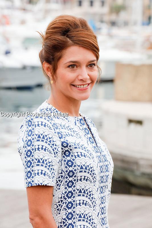 Mipcom Cannes le 17 Octobre 2016 Emma De Caunes Photocall Ranson