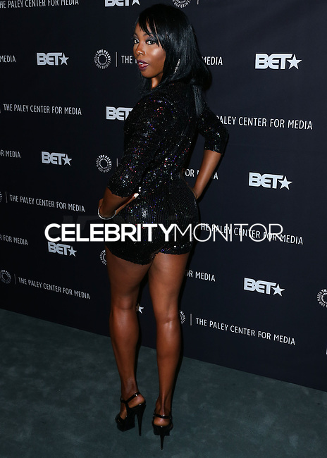 BEVERLY HILLS, CA, USA - OCTOBER 14: Erica Ash arrives at the Paley Center for Media's An Evening with BET Networks' 'Real Husbands of Hollywood' held at the The Paley Center for Media on October 14, 2014 in Beverly Hills, California, United States. (Photo by Xavier Collin/Celebrity Monitor)