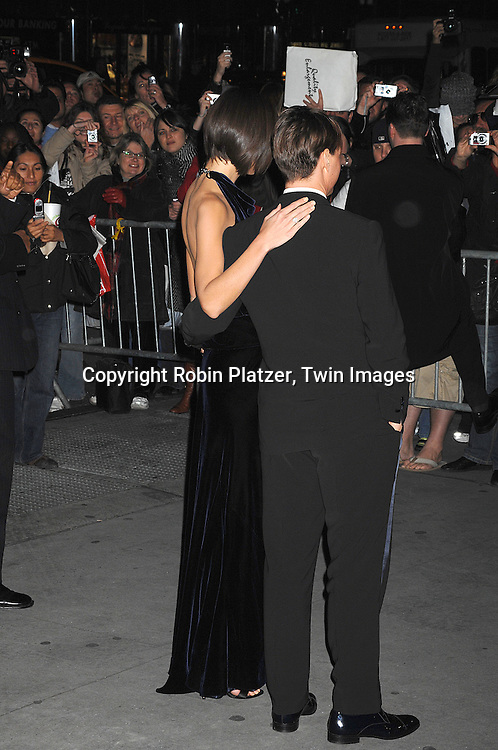 Katie Holmes and Tom Cruise..arriving at The Museum of the Moving Image 2007 Gala honoring Tom Cruise on November 6, 2007 at Cipriani's 42nd Street. ....Robin Platzer, Twin Images......212-935-0770