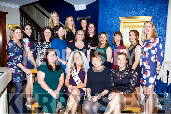 Annabelle Kehoe Wexford celebrated her hen party with her bridesmaid Sarah O'Mahony Firies (seated left) and her family and friends in Lord Kenmares restaurant on Saturday night