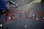 Manifestation contre la réforme des retraites. Place de la République. Jeudi 28 octonre 2010.Photo Benjamin Géminel.