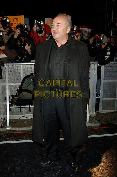 GEORGE GALLOWAY.Celebrity Big Brother evictions.Borehamwood, Hertfordshire.25 January 2006.full length.www.capitalpictures.com.sales@capitalpictures.com.©Capital Pictures