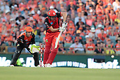8th January 2018, The WACA, Perth, Australia; Australian Big Bash Cricket, Perth Scorchers versus Melbourne Renegades; Cameron White of the Melbourne Renegades plays through the leg side during his innings