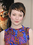 Emily Browning at Warner Bros. World Premiere of Legend of the Guardians: The Owls of Ga'Hoole held at The Grauman's Chinese Theatre in Hollywood, California on September 19,2010                                                                               © 2010 Hollywood Press Agency