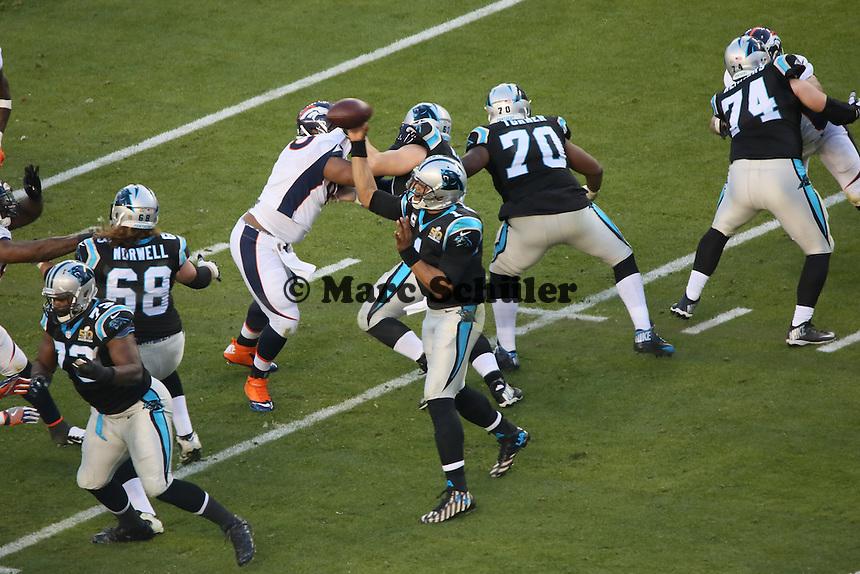 QB Cam Newton (Panthers) - Super Bowl 50: Carolina Panthers vs. Denver Broncos