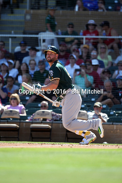 Yonder Alonso - Oakland Athletics 2016 spring training (Bill Mitchell)