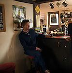 Sorrel Horse pub interior traditional English village public house, Shottisham, Suffolk
