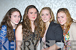 Kara O'Connor, Aileen Crowley, Katherine Cremin and Meabh O'Sullivan at the Muckross Rowing club fashion show in the Killarney Oaks Hotel on Friday night....