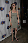 """In Play - Amanda Quaid at the Opening Night party of Signature Theatre Company's """"The Illusion"""" on June 5, 2001 at the West Bank Cafe with the play at the Peter Norton Space, New York City, New York.  (Photo by Sue Coflin/Max Photos)"""